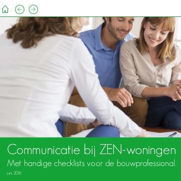 Communicatie bij ZEN-woningen